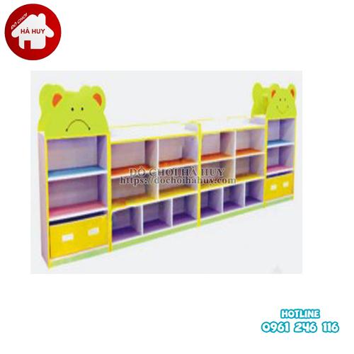 giá đồ chơi 4 khối hình gấu