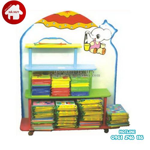 giá đồ chơi con voi 4 tầng
