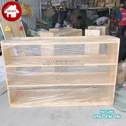 Giá để đồ mầm non 3 tầng không hậu HC4-004-2