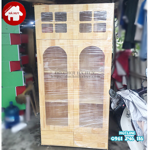 Tủ đồ dùng âm nhạc mẫu 1 mầm non HC4-010-1