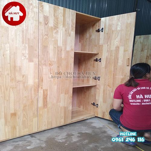 Tủ đựng chăn chiếu trường mầm non HC4-014-2
