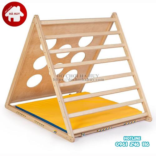 Bộ vận động leo núi đa năng bằng gỗ cho bé VDG-010-1