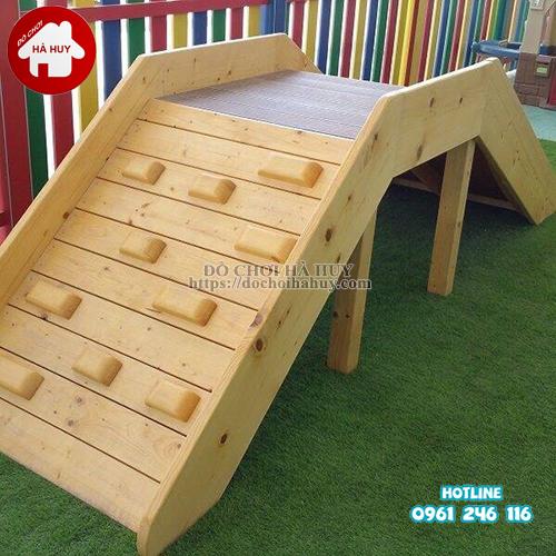 Bộ vận động leo núi đa năng bằng gỗ cho bé VDG-010-3