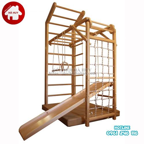 Bộ vận động thể chất đa năng bằng gỗ cho bé VDG-008-1