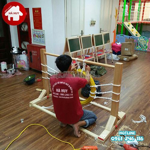 Vòng chui vận động bằng gỗ cho bé VDG-009-3