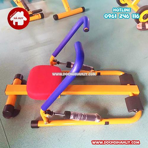 Máy rèn luyện kiểu chèo thuyền đôi cho bé HA7-008-1
