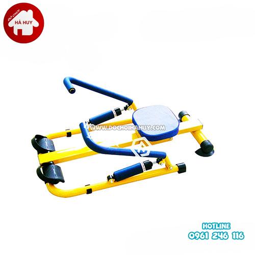Máy rèn luyện kiểu chèo thuyền đôi cho bé HA7-008