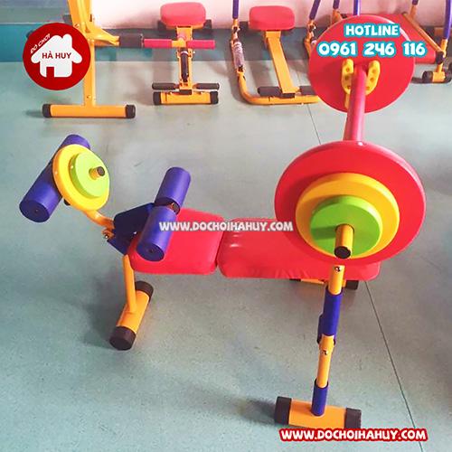 Máy luyện tập cử tạ cho bé mầm non HA7-006-1
