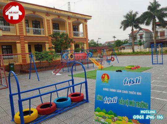 Sản xuất đồ chơi vận động bằng sắt cho trường mầm non tại Hải Phòng