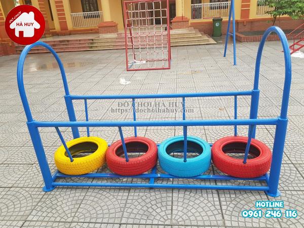 Sản xuất đồ chơi vận động bằng sắt cho trường mầm non tại Hải Phòng-2