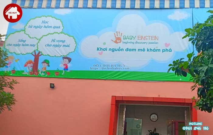 Sản xuất lắp đặt đồ chơi vận động cho trường mầm non tại Hà Nội-1