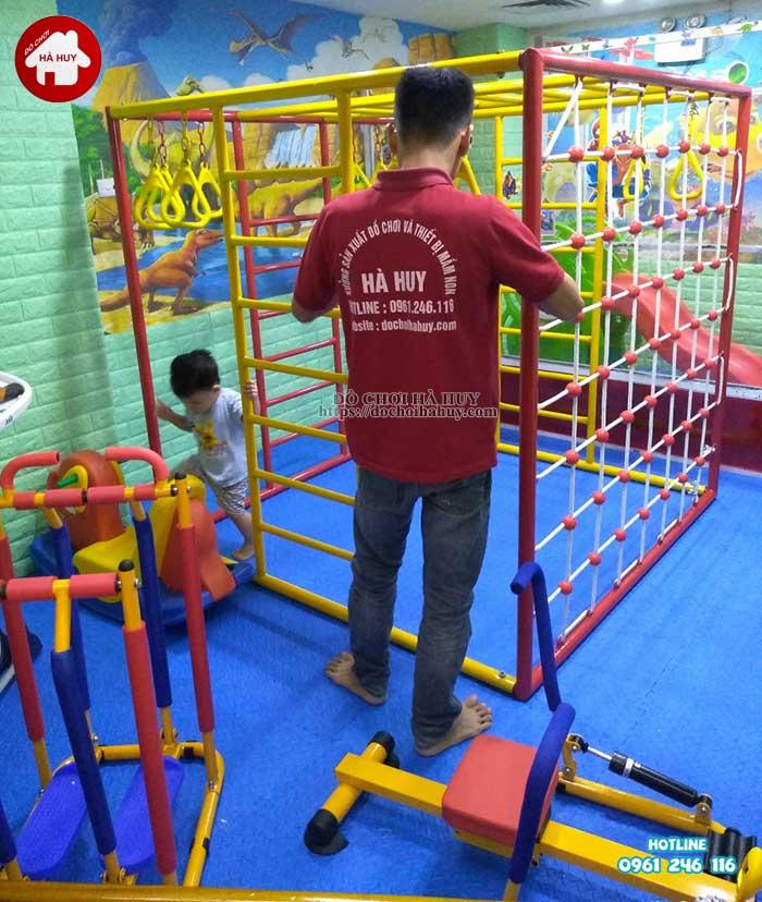 Sản xuất lắp đặt đồ chơi vận động cho trường mầm non tại Hà Nội-3