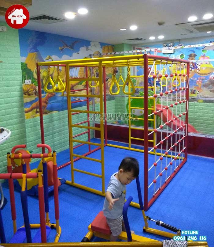 Sản xuất lắp đặt đồ chơi vận động cho trường mầm non tại Hà Nội-4