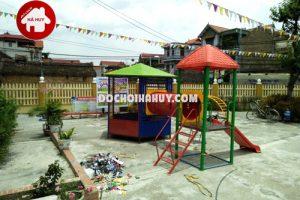 Lắp đặt nhà bóng ngoài trời, đồ chơi mầm non tại Bắc Ninh