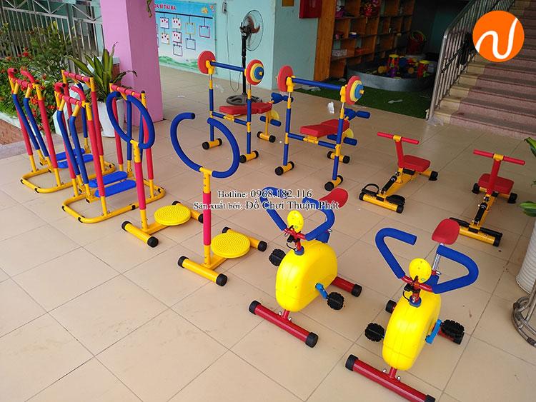 Một số thiết bị tập GYM trẻ em
