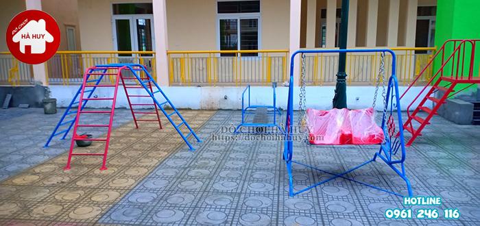 Công trình đồ chơi ngoài trời tại Vĩnh Phúc