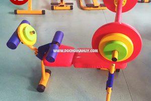 Đồ chơi Hà Huy vừa lắp đặt xà đu và bộ tập gym tại Thanh Xuân Hà Nội