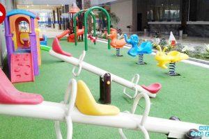 Công trình lắp đặt khu vui chơi cho trường mẫu giáo ở Hưng Yên