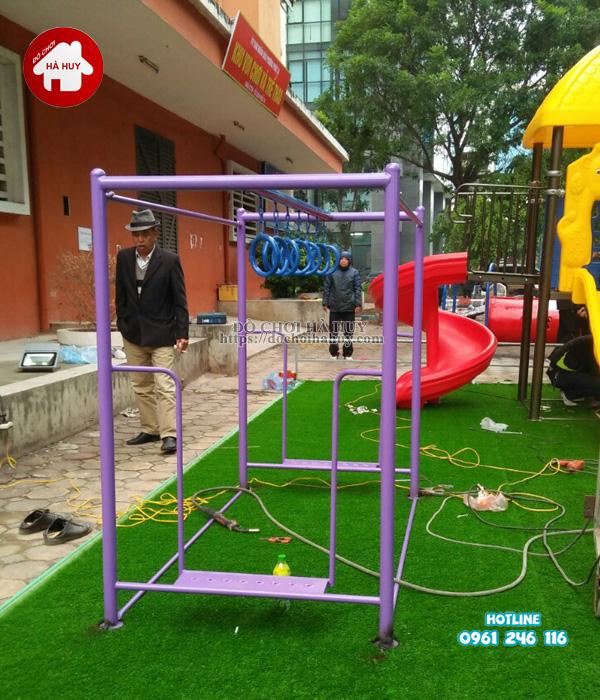 Lắp đặt đồ chơi vận động ngoài trời tại Hà Đông Hà Nội