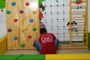 Sản xuất lắp đồ chơi vận động cho trường mầm non ở Nam Định