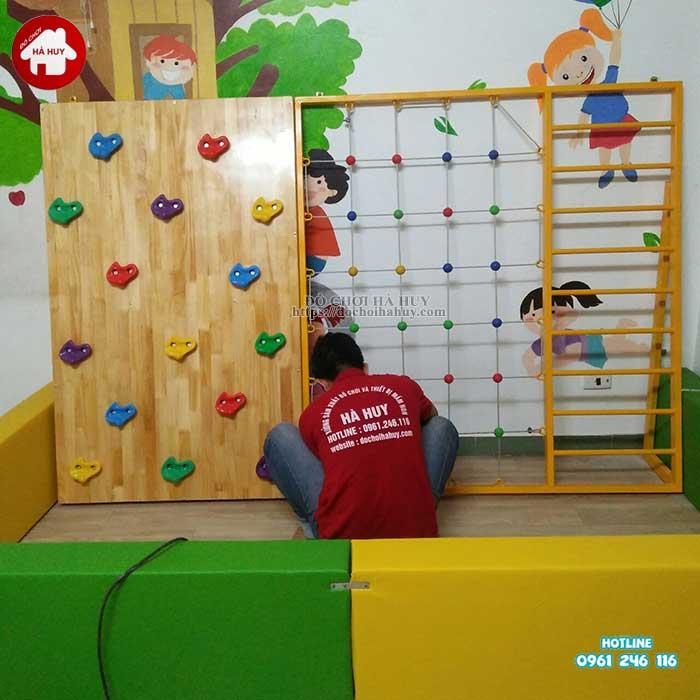Sản xuất lắp đồ chơi vận động thú vị cho trường mầm non ở Nam Định